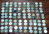 в Саратове был найден клад старинных монет