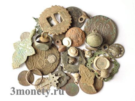 Находки, которые можно сделать с металлоискателем (фото)