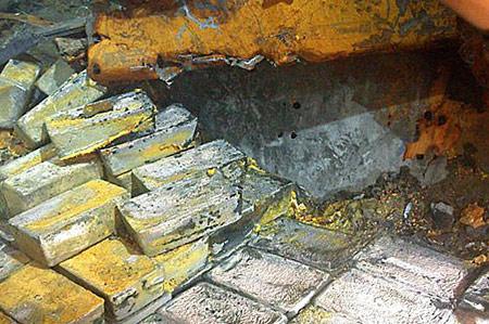 Подводный клад серебра в Ирландии