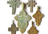 Старинные крестики (энколпионы, тельники и другие кресты)