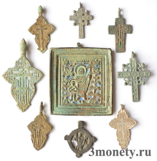 Старинные крестики (фото)