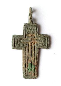 Нательный старинный крестик (фото)