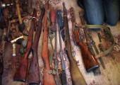 В Туле у «черных копателей» полицейскими были изъяты партия оружия и взрывчатка