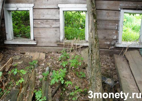 поиск старинных вещей в заброшенных деревнях