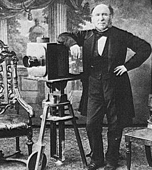 Фотограф середины XIX века