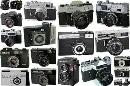 Старинные и старые фотоаппараты (фото)