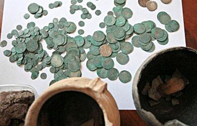 В Польше нашли клад из старинных монет