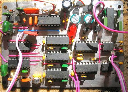 Схемы популярных металлоискателей