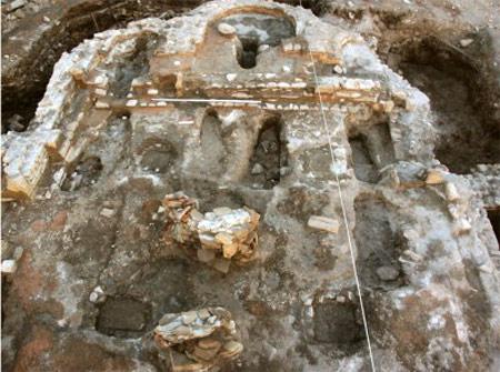 Христианский храм - уникальняа находка археологов