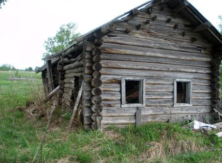 поиски монет в старых деревенских домах