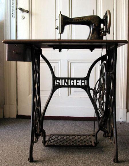 Старинные швейные машинки Зингер (Сингер) (фото)