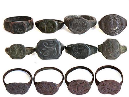 Старинные перстни и кольца (фото)