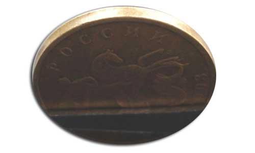 редкий брак гурта монеты